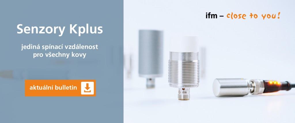 Induktivní senzory Kplus