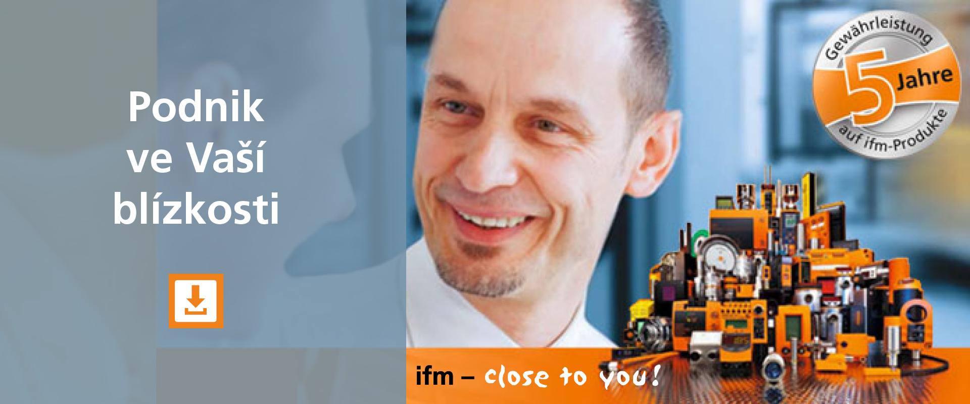 ifm - podnik ve vaší blízkosti