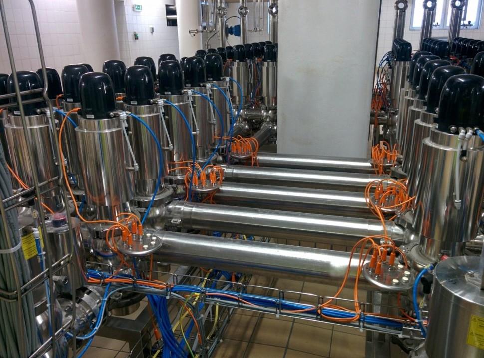 Instalace komunikačních připojení sedlových ventilu celkem 100kusů