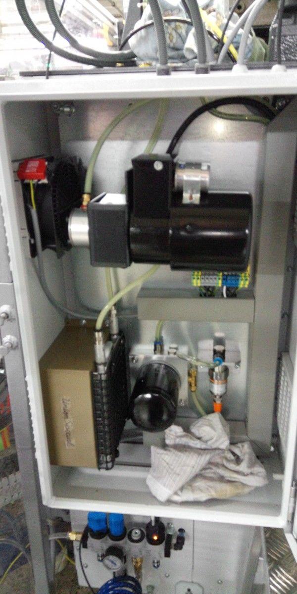 Aplikácia určená na sledovanie tlaku v obehu šijacej mašiny ,ktorá šije špičky pančuchových ponožiek a podkolienok.V prípade straty oleja sa odošle signál o znížený tlaku oleja a následne celý stroj s prevádzky aby nedošlo k zhoreniu šijacej