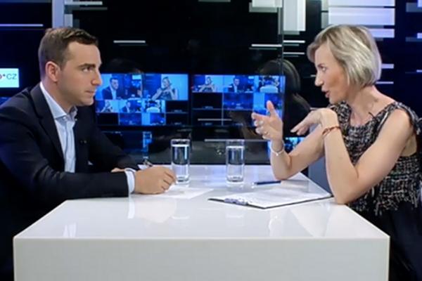 Luca Rigali ifm electronic pro EURO Tv rozhovor natéma Průmysl 4.0, digitalni tovarna, IO-Link, chytre senzory